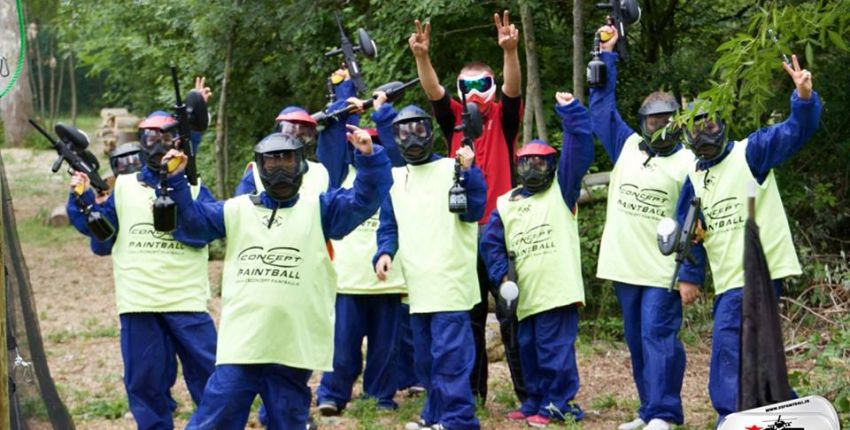 paintball toulouse famille